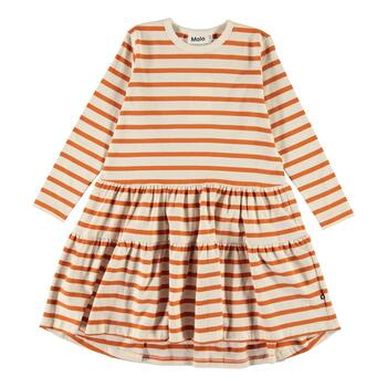 Molo - Chia Kjole - Orange Breton Stribet