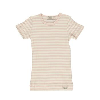 MarMar - Modal Plain Tee SS - Rose Off White