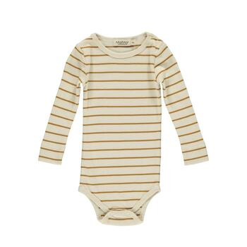 MarMar - Modal Plain Body LS - Pumpkin Pie Stripe