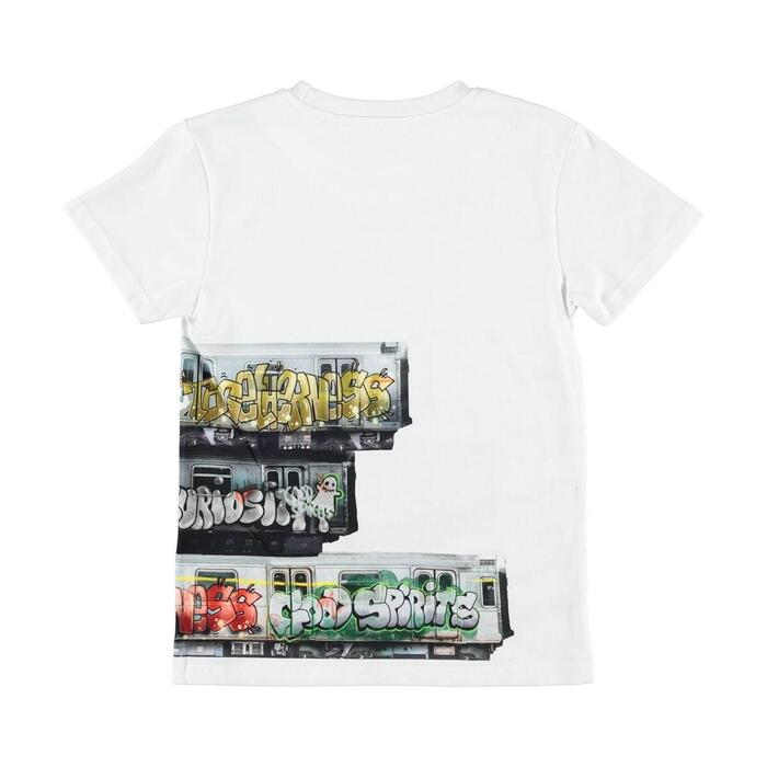 Molo - Raven T-shirt - Subway Stripe