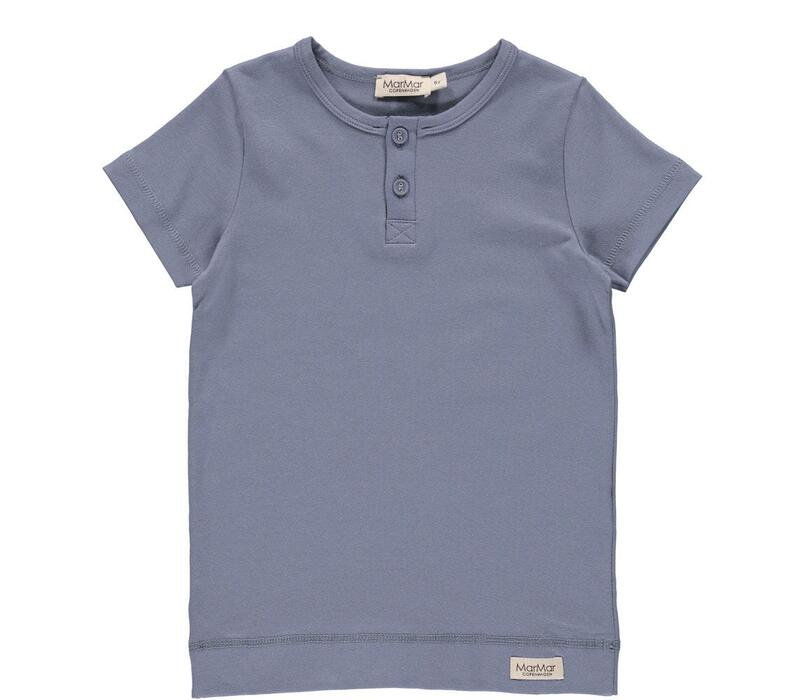MarMar - Modal Smooth Tee SS - Blue Rock